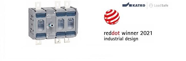 LoadSafe KU sērija iegūst Red Dot balvu